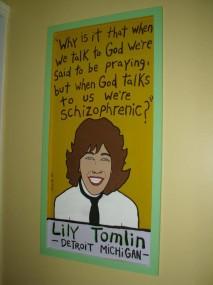 Lily Tomlin God