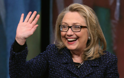 hillary-clinton with glasses