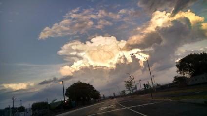 clouds september