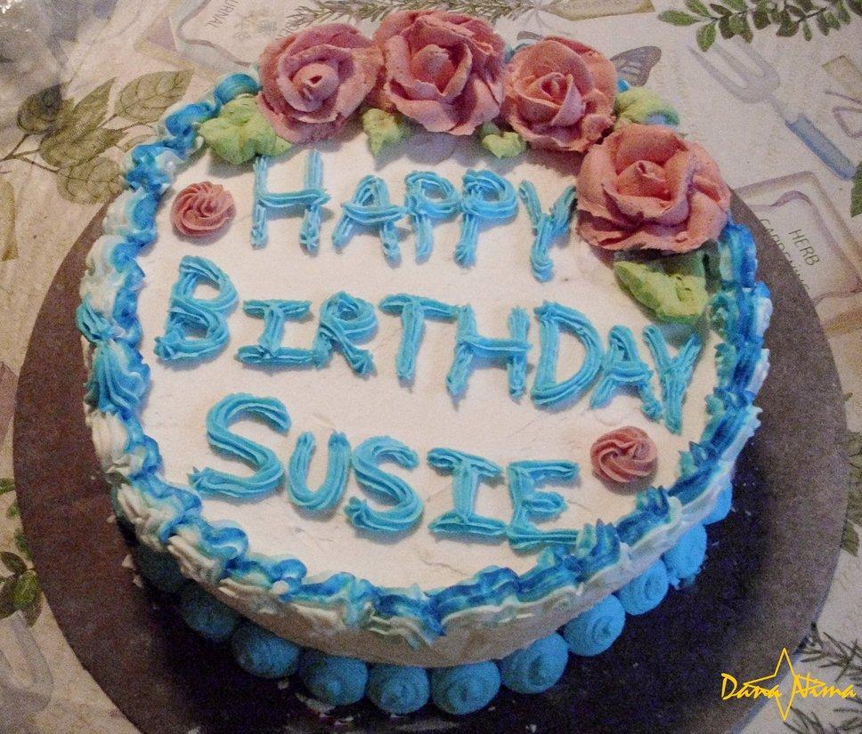 Happy Birthday Susie Cake