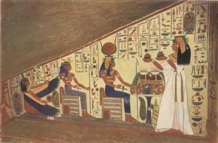 nefertiti's tomb paintings