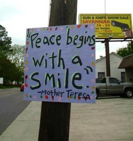 Peace Mother teresa