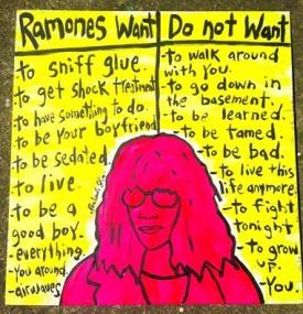 Ramones want