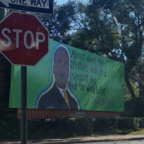 MLK billboard